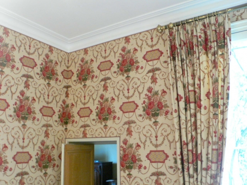 tissus tendus espace classique bruno moine tapissier d corateur. Black Bedroom Furniture Sets. Home Design Ideas